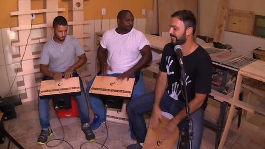 Mais que caja, cajón: 'Plugue' mostrou como é feito este instrumento musical