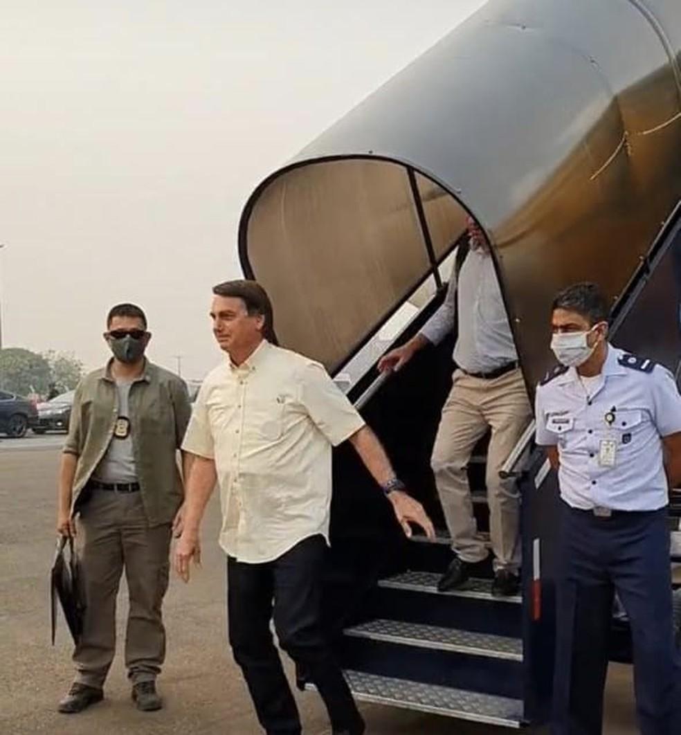 Jair Bolsonaro visita Sinop e Sorriso nesta sexta-feira — Foto: Divulgação