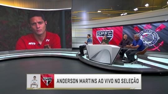 """Após vitória no clássico, Anderson Martins fala sobre sonho do título brasileiro: """"São Paulo vai chegar forte para brigar"""""""