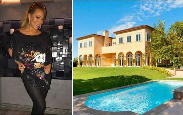 A nova mansão da cantora Mariah Carey (Foto: Instagram/Divulgação)