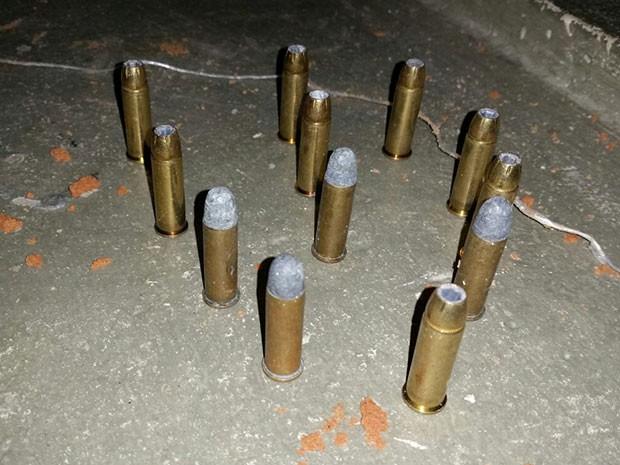 Foram encontradas 12 munições no Pavilhão 2 de Alcaçuz (Foto: G1)