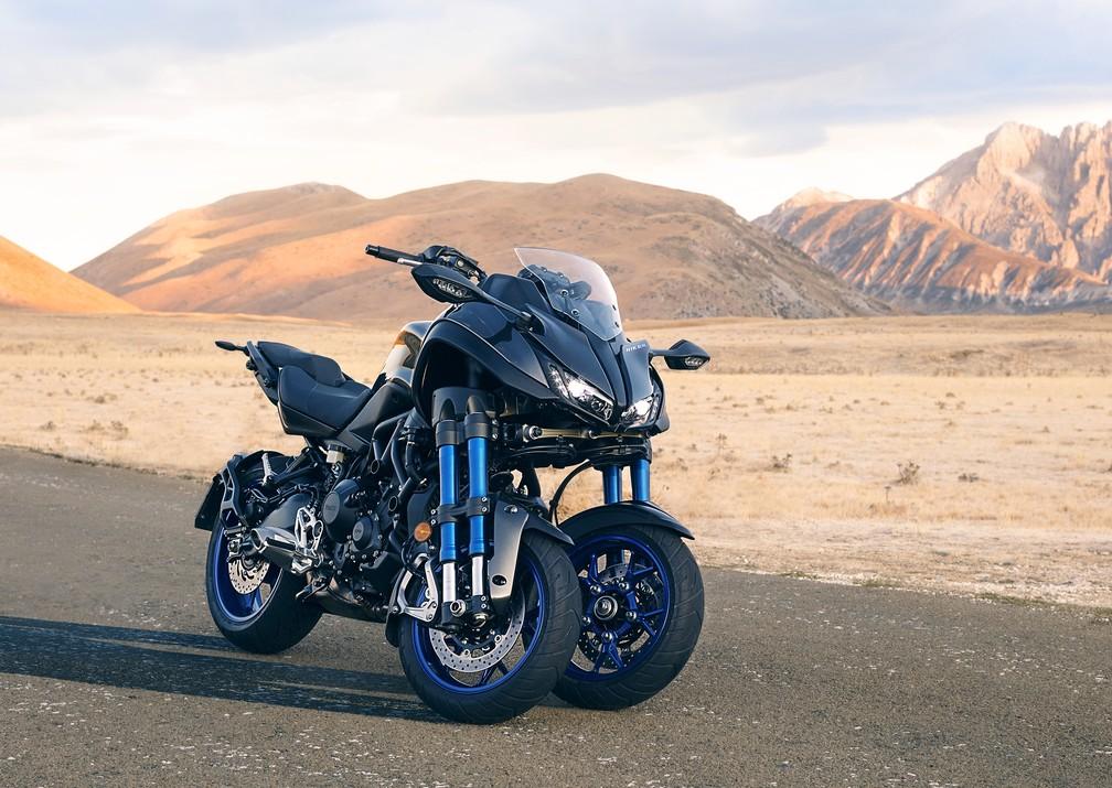 Yamaha Niken (Foto: Divulgação)