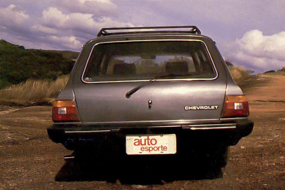 Chevrolet Caravan Diplomata 4.1 (Foto: Arquivo/Autoesporte)