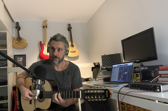 Alexandre Nero trabalha em projeto de novo disco (Foto: Arquivo pessoal)