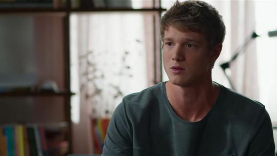 Filipe livra cara de Aparecida e choca Lígia: 'Fui eu que levei a Nina lá pra encontrar a Rita'