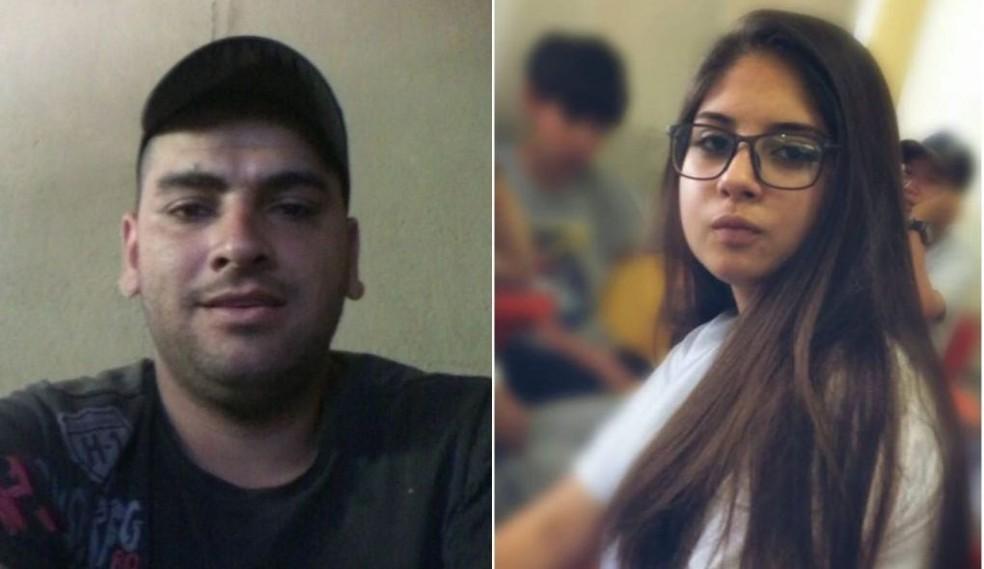 Horázio Lazareno Lucas e Letícia Tanzi â?? Foto: Reprodução/Facebook