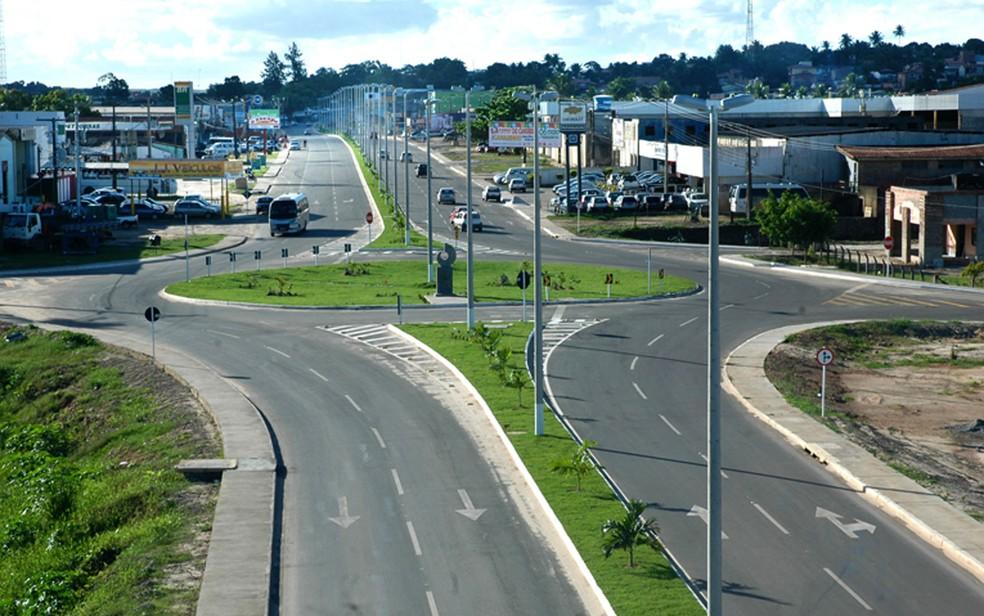Alagoinhas está entre as cidades com toque de recolher.  — Foto: Divulgação/Prefeitura de Alagoinhas