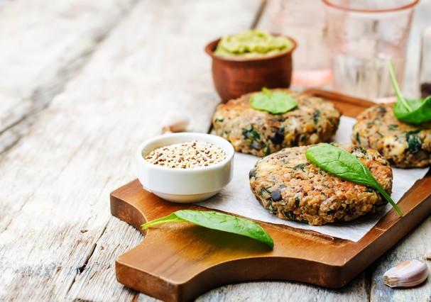 Hambúrguer vegetariano  (Foto: Thinkstock)