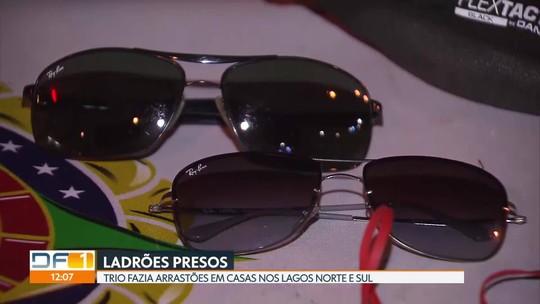 Justiça manda soltar trio suspeito de fazer arrastões em casas de luxo de Brasília