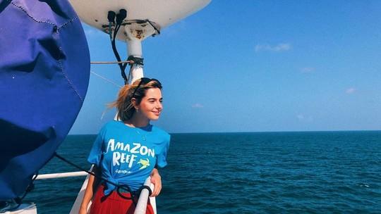 Giovanna Lancellotti sobre experiência de viajar a bordo de uma expedição do  Greenpeace pelos oceanos: 'Foi transformador'