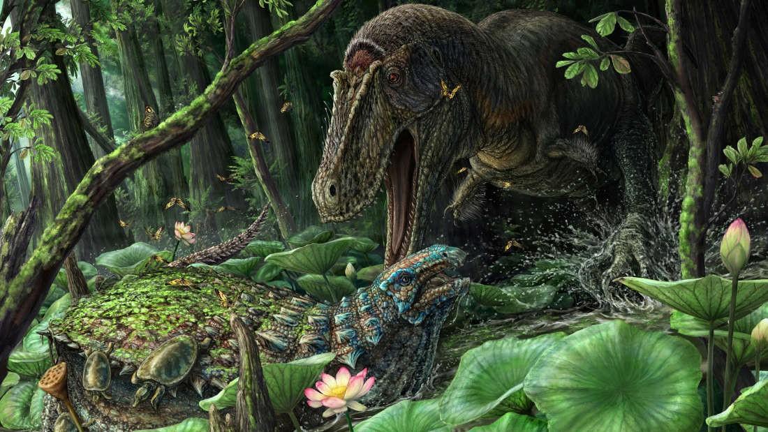 Desenho de um Dynamoterror (Foto: Reprodução/Dont Mess With Dinosaurs)