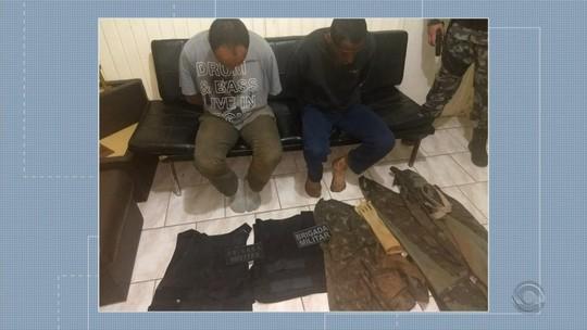 Polícia identifica suspeitos de assalto que teve morte de refém em Ibiraiaras
