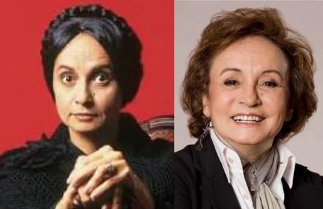Joana Fomm foi outra que se destacou na novela, como a falsa cristã Perpétua, considerada até hoje uma das grandes vilãs da TV. Recentemente, ela participou das filmagens do longa 'Assombro' TV Globo