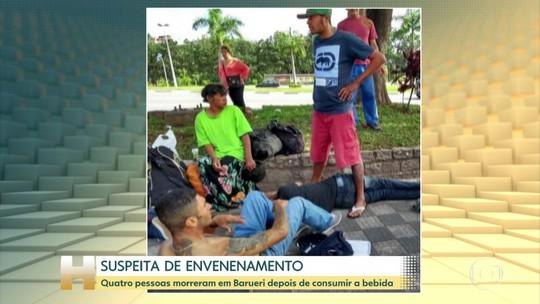 Polícia investiga a morte de quatro homens, em São Paulo