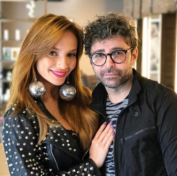 Eron Araújo e Maria Eugênia Suconic  (Foto: Reprodução/Instagram @eronaraujo)