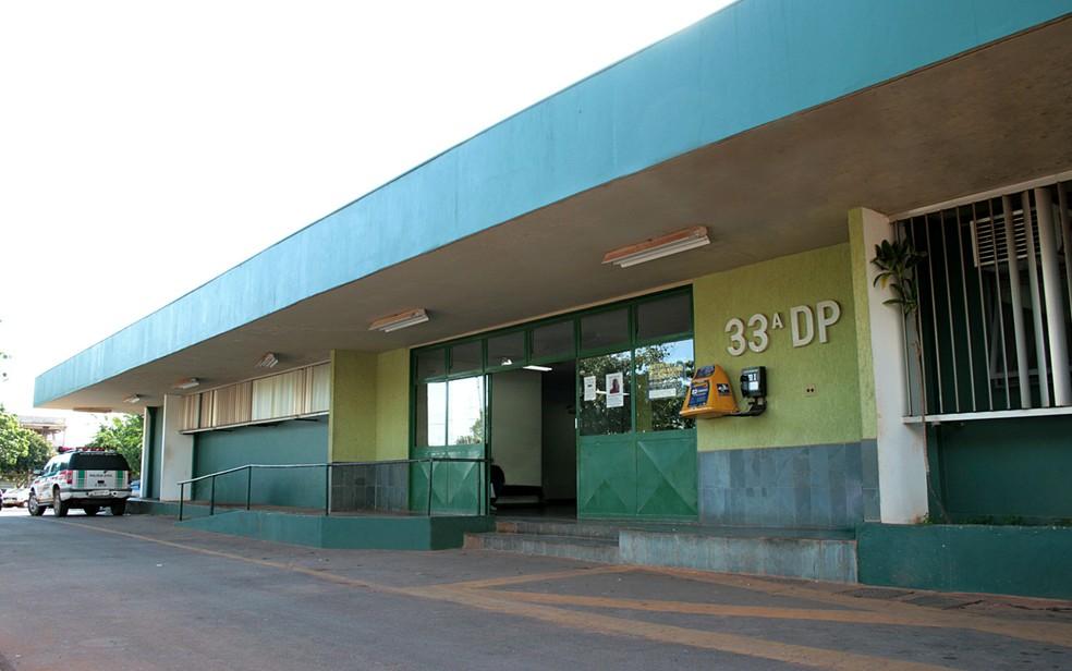 Fachada da 33 ª DP, em Santa Maria, no Distrito Federal, em imagem de arquivo — Foto: Polícia Civil/Divulgação