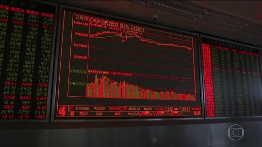 Pânico está ligado à China