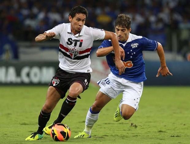 Ganso São Paulo x Cruzeiro (Foto: Rubens Chiri / saopaulofc.net)