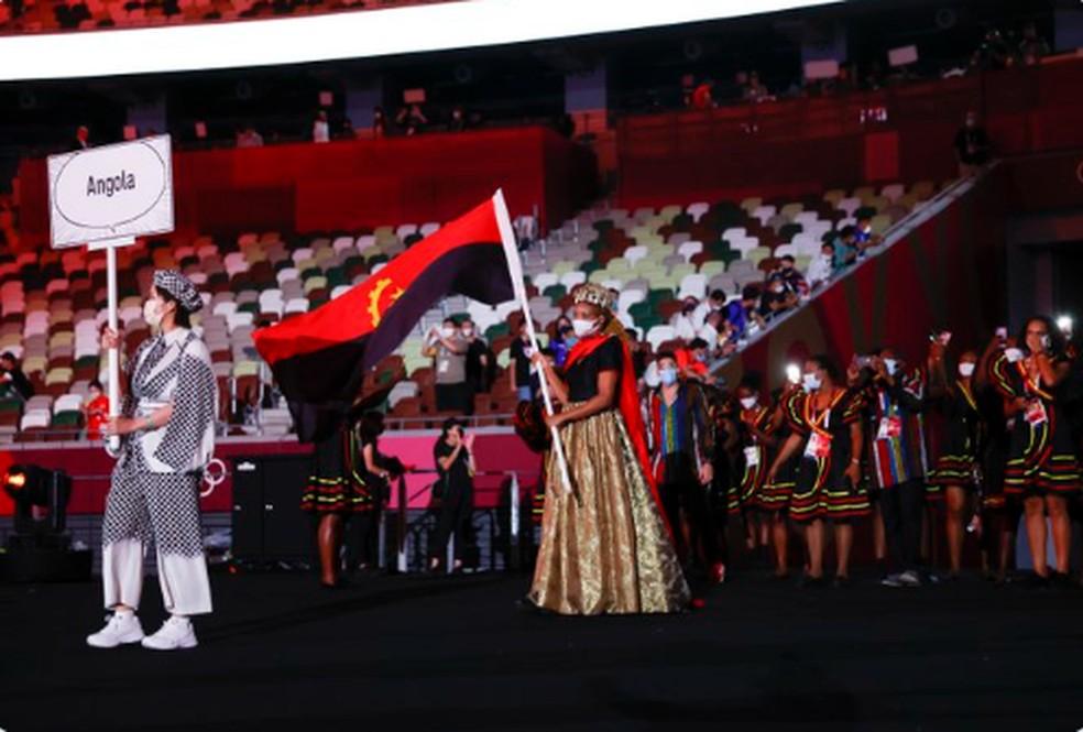 Delegação de Angola — Foto: @olympic
