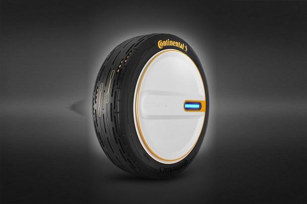 O pneu do futuro da Continental (Foto: Divulgação)