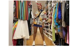 'Anitta Dentro da Casinha': em foto exclusiva, a cantora mostra seus figurinos de shows | Divulgação/Multishow