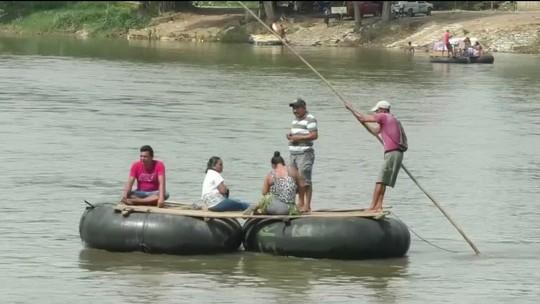 Criança brasileira de dois anos desaparece em rio entre EUA e México