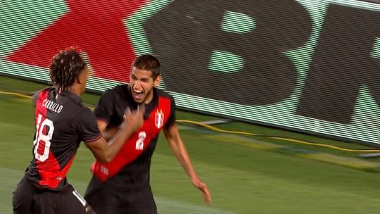 O gol de Brasil 0 x 1 Peru pelo Amistoso Internacional