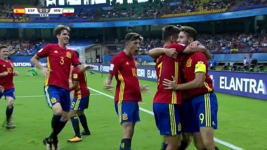 Espanha domina o Irã, vence com tranquilidade e encara Mali na semifinal