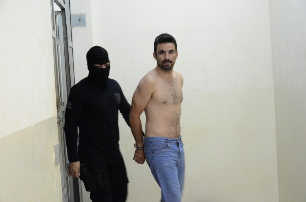 Riderson Rocha está preso na Divisão de Investigação Criminal  (Foto: Regiclay Saad/Arquivo pessoal)