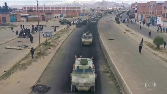 Ação com militares para reabrir estrada na Bolívia deixa 3 mortos