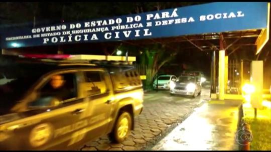 Operação policial prende quadrilha de PMs suspeita de execuções na Grande Belém