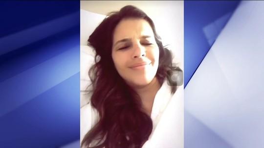 Hospedada em hotel, atriz Mariana Rios relata gritos da torcida e reclama de confusão