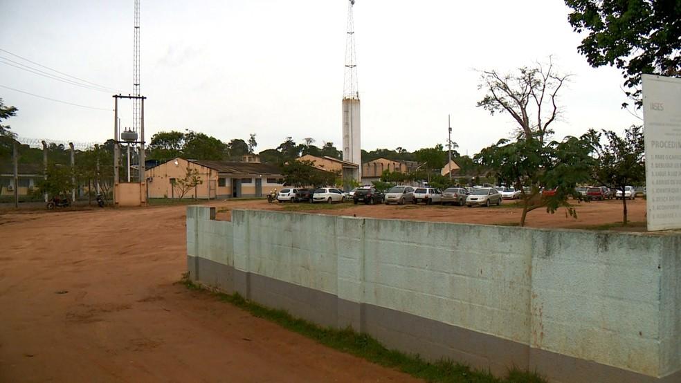 Instituto de Atendimento Socioeducativo do Espírito Santo (Iases) de Linhares, no Norte do Espírito Santo — Foto: Reprodução/TV Gazeta