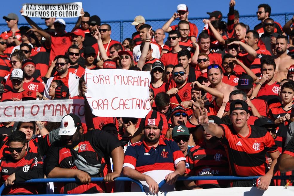 Flamenguistas foram os que mais reclamaram (Foto: Antonio Carlos Mafalda / Mafalda Press)
