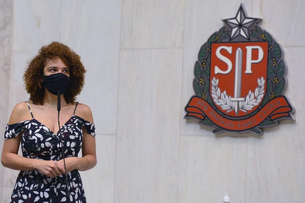 A deputada estadual Mônica Seixas, da Bancada Ativista do PSOL na Alesp. — Foto: Divulgação/Alesp
