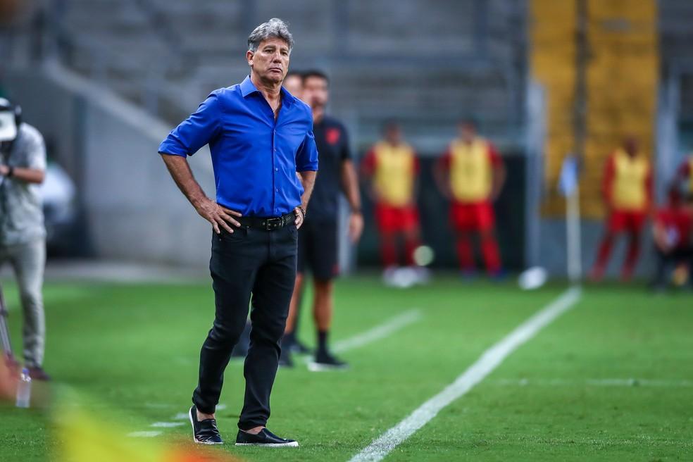 Renato, Grêmio x Athletico-PR — Foto: Lucas Uebel/Grêmio Divulgação