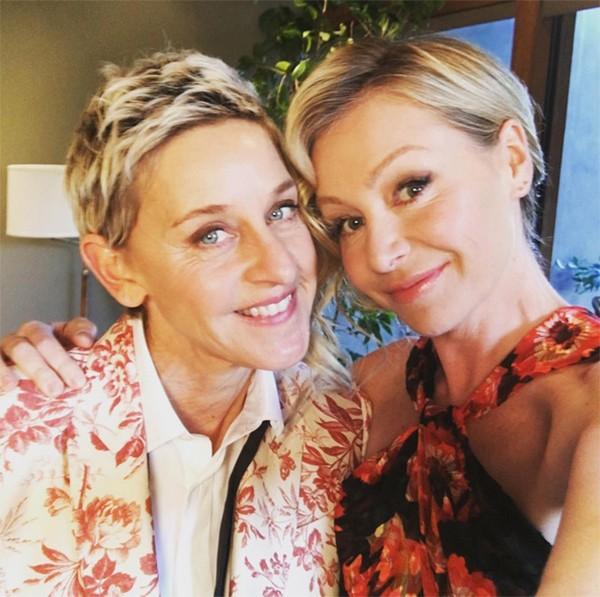 Ellen DeGeneres e Portia de Rossi (Foto: Instagram)
