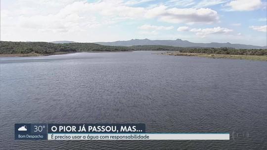 Dois reservatórios do Sistema Paraopeba, na Grande BH, atingem nível mais alto desde 2014