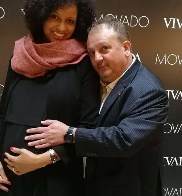 Erick Jacquin com a esposa Rosângela Menezes (Foto: Reprodução Instagram)