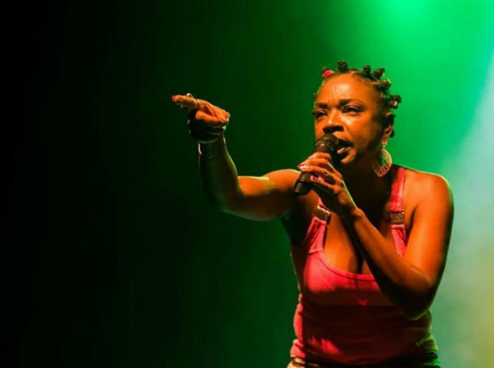 MC Sharylaine — Foto: Diego Marcos