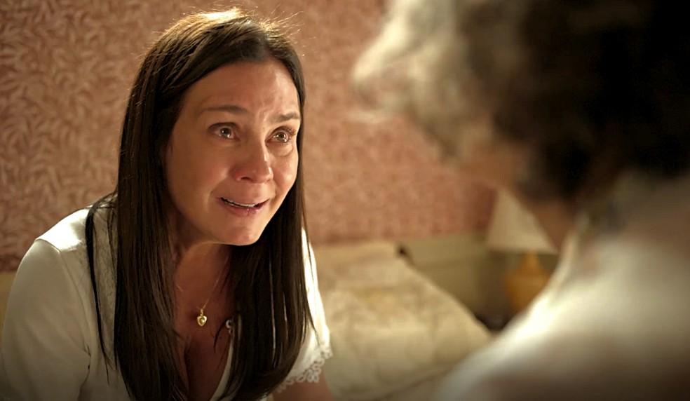 Thelma vai cometer um novo crime em 'Amor de Mãe' — Foto: Globo