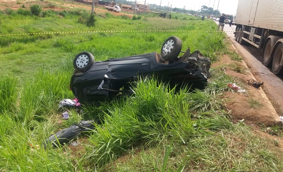Jovem não resistiu e morreu após colidir de frente com caminhão em estrada do Acre — Foto: Luízio Oliveira/Arquivo pessoal