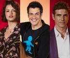 Agatha Moreira, Mateus Solano e Reynaldo Gianecchini | TV Globo