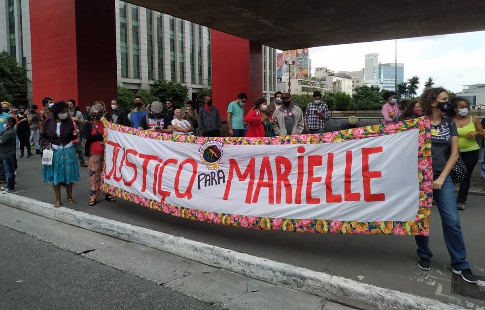 17ª Marcha da Consciência Negra em SP aconteceu nesta sexta-feira (20) em São Paulo — Foto: Divulgação
