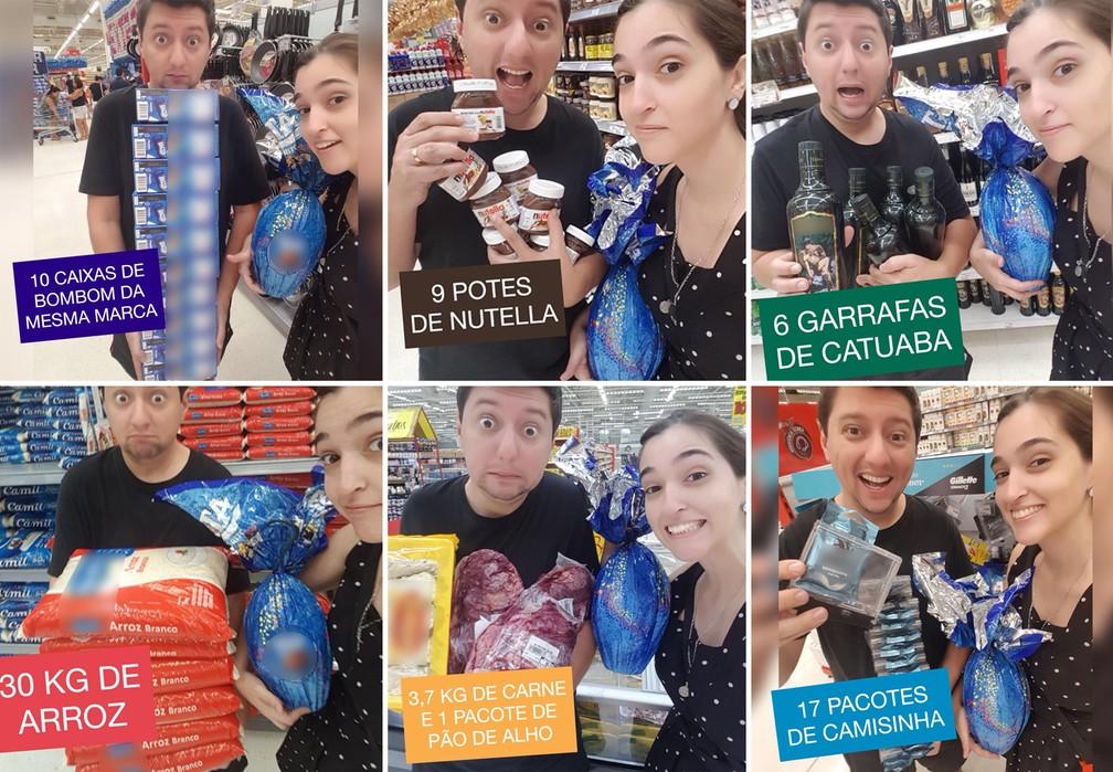 Postagem de humorista sobre preço dos ovos de Páscoa viralizou na internet (Foto: Arquivo pessoal)