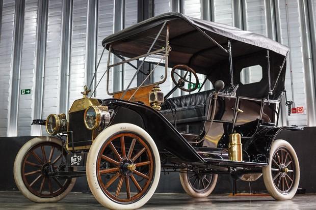 Ford T de 1911 em exposição (Foto: Rodrigo Ronconi/Box 54)