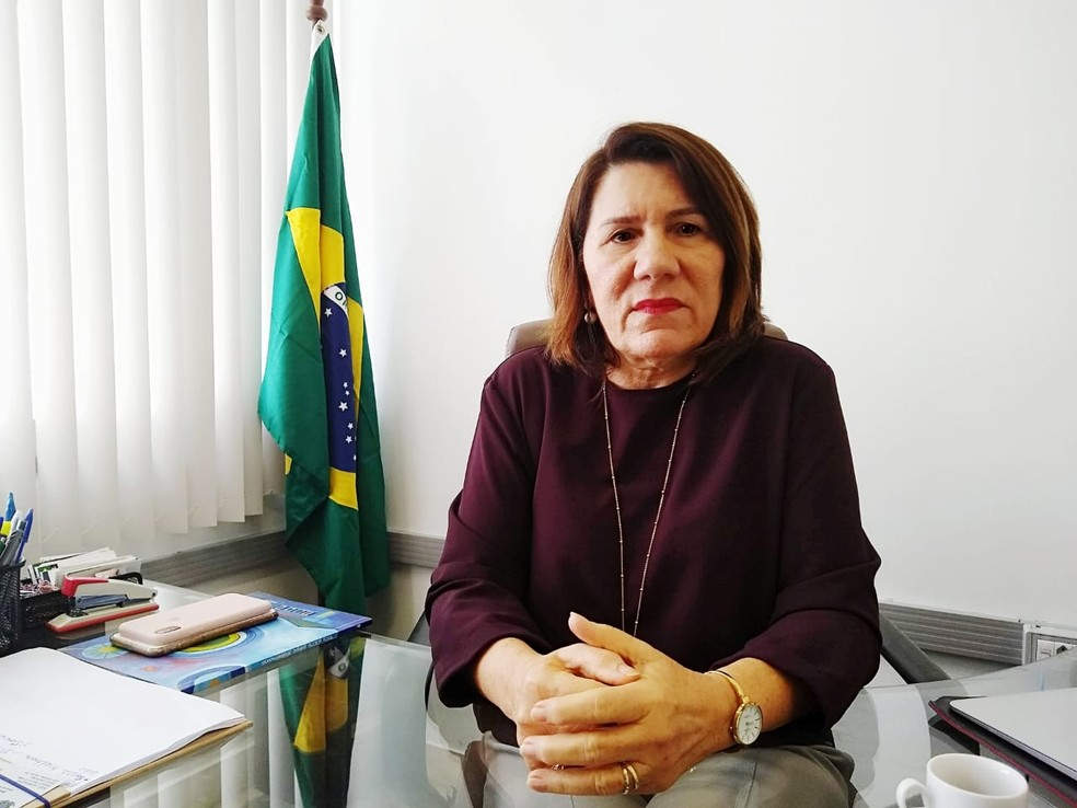 Ângela Maria Paiva Cruz, reitora da Universidade Federal do Rio Grande do Norte — Foto: Igor Jácome/G1