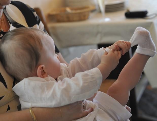 Cuidado: meias podem conter produtos tóxicos, alertam pesquisadores (Foto: Getty)