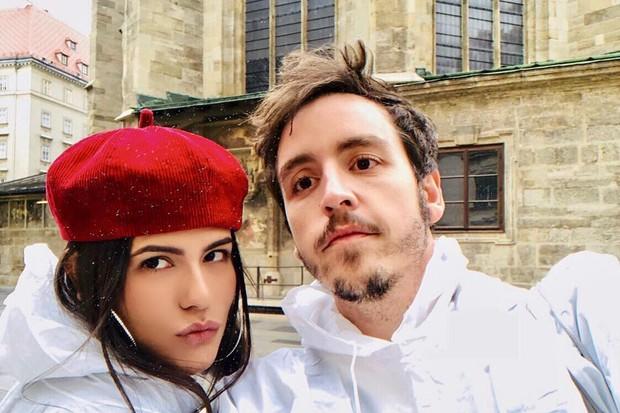 Antonia Morais e Wagner Santisteban (Foto: Reprodução Instagram)