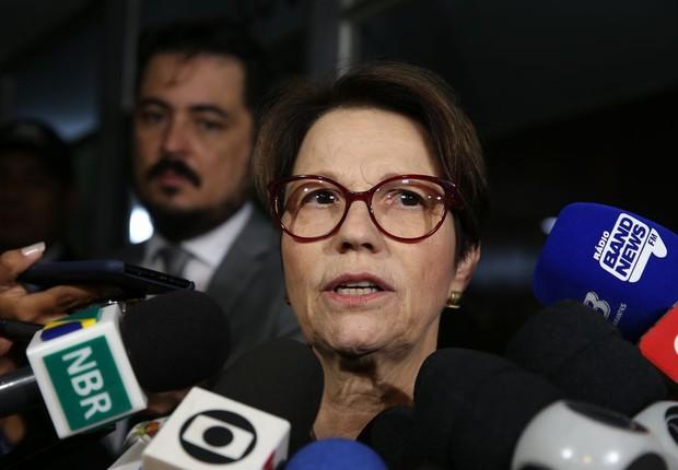 Tereza Cristina será a ministra da Agricultura de Jair Bolsonaro (Foto: Antonio Cruz/ Agência Brasil)